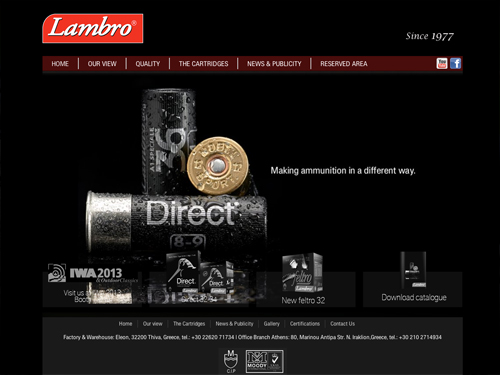 Lambro website